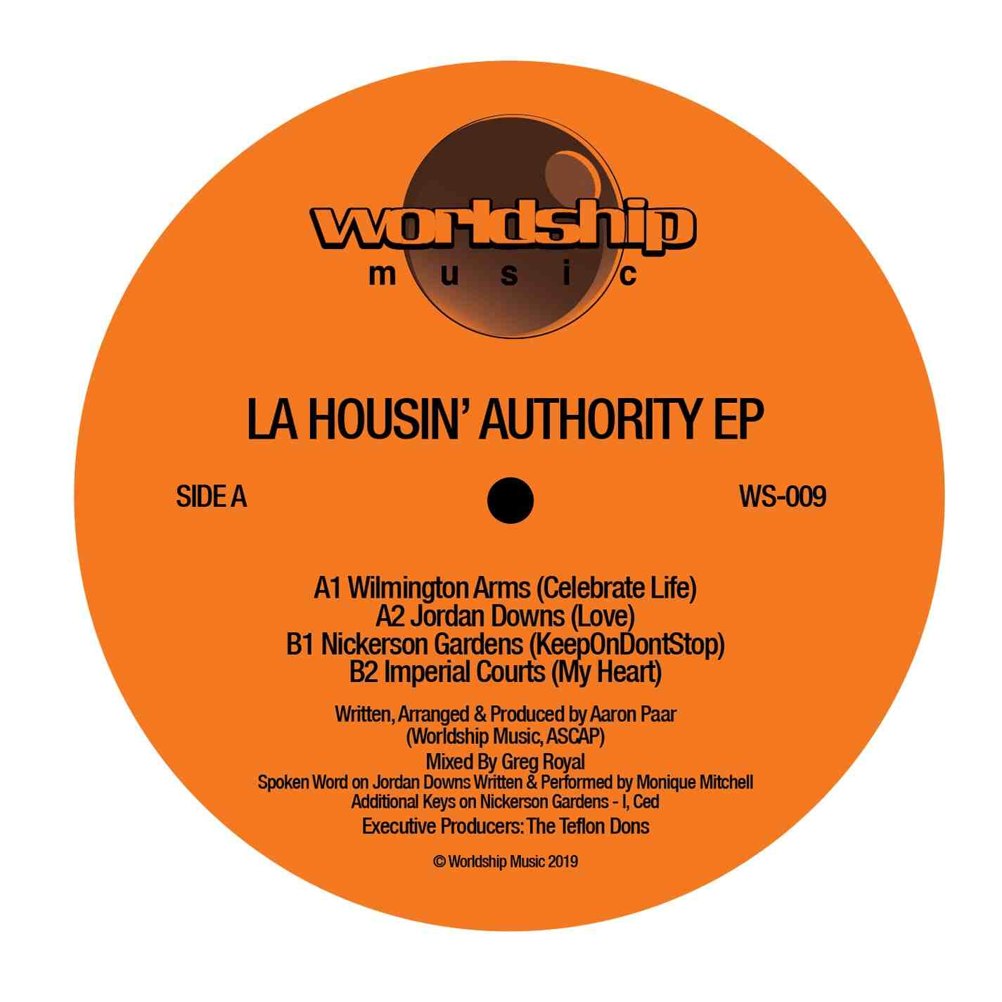 LA Housin' Authority/SELF-TITLED EP 12""