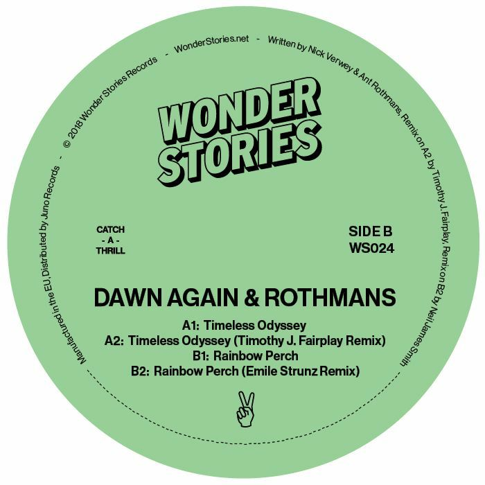 Dawn Again & Rothmans/TIMELESS... 12""
