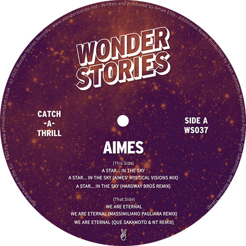 Aimes/A STAR IN THE SKY EP 12""