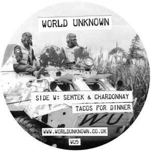 """World Unknown/VOL. 5 12"""""""