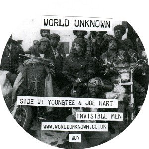 Youngtee & Joe Hart/WORLD UNKNOWN 7 12""
