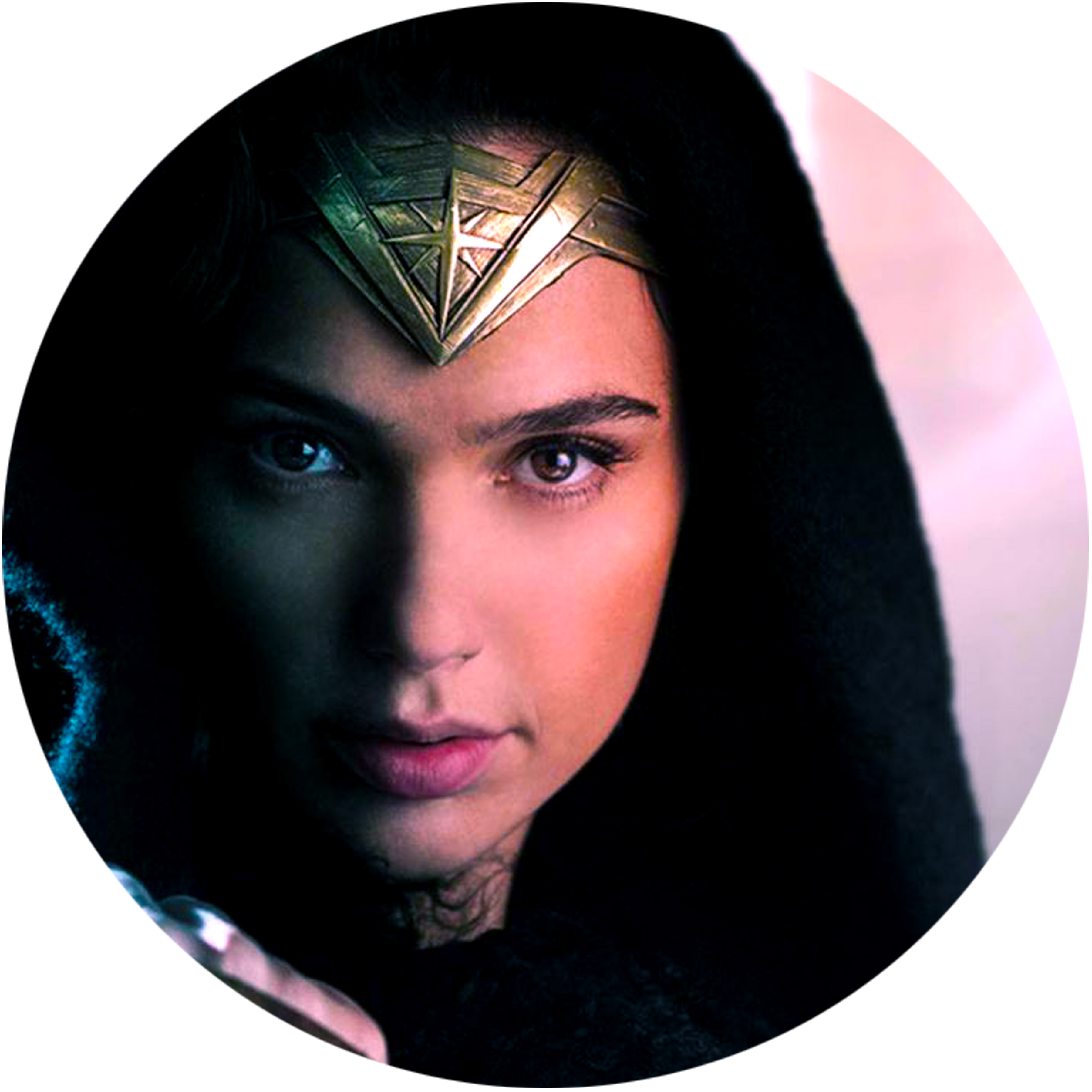 Wonder Woman/FACE CLOSEUP SLIPMAT