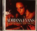 Adriana Evans/WALKING WITH THE NIGHT CD