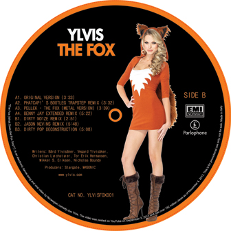 Ylvis/THE FOX EP 12""