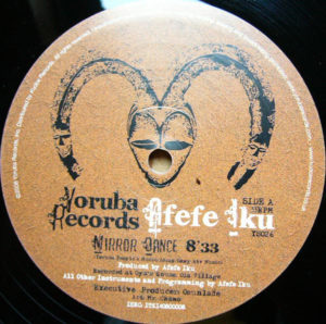 Afefe Iku/MIRROR DANCE 12""