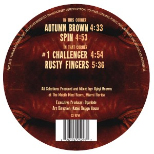 """Djinji Brown/DJINJI'S CORNER 12"""""""