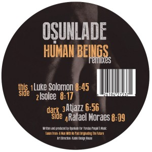 """Osunlade/HUMAN BEINGS (ISOLEE RMX) 12"""""""