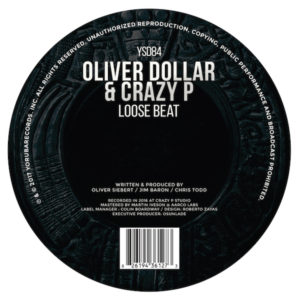 Oliver Dollar & Crazy P/LOOSE BEAT 12""