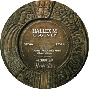 """Hallex M/OGGUN (NICKODEMUS REMIX) 12"""""""