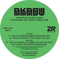 "Akabu/LIFE IS SO STRANGE EP 12"""