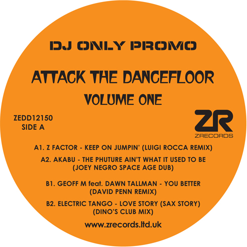"Various/ATTACK THE DANCEFLOOR VOL 1 12"""