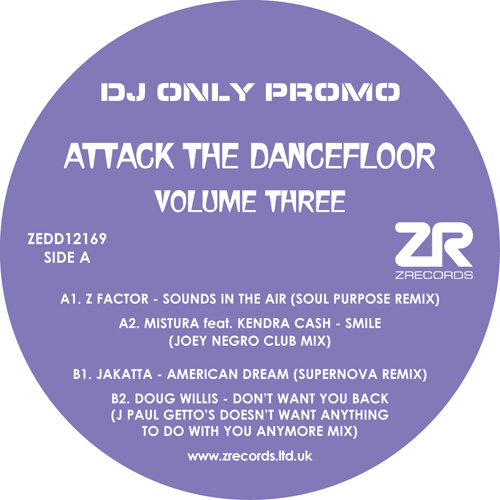 Various/ATTACK THE DANCEFLOOR VOL 3 12""
