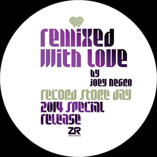 Joey Negro/REMIXED WITH LOVE (RSD) 12""