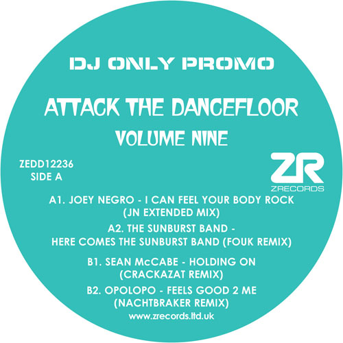 Various/ATTACK THE DANCEFLOOR VOL 9 12""