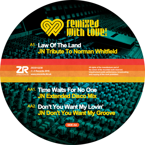 """Joey Negro/REMIXED WITH LOVE VOL. 2 12"""""""