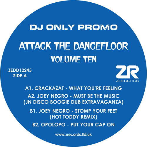 Various/ATTACK THE DANCEFLOOR VOL 10 12""
