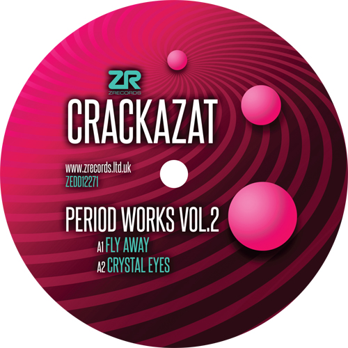 Crackazat/PERIOD WORKS VOL. 2 12""