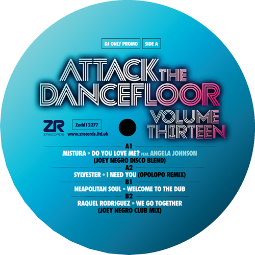 Various/ATTACK THE DANCEFLOOR VOL 13 12""