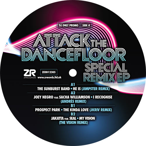 Various/ATTACK THE DANCEFLOOR SP RMX 12""