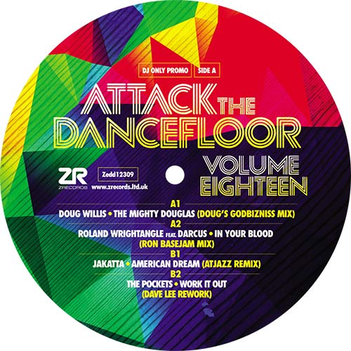 Various/ATTACK THE DANCEFLOOR VOL 18 12""