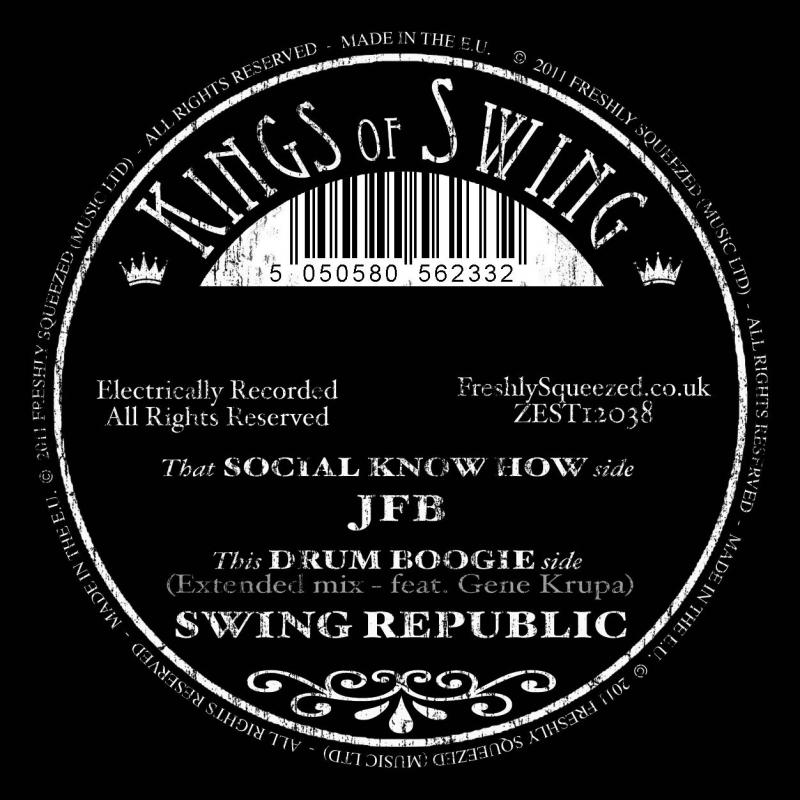 JFB vs Swing Republic/DRUM BOOGIE 12""