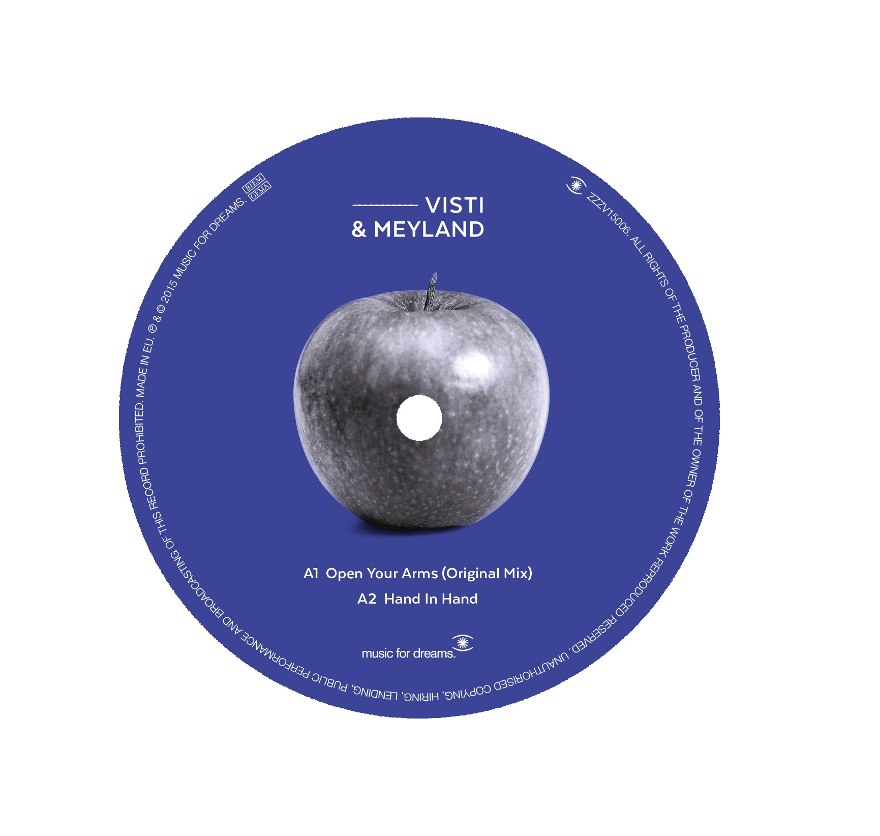 Visti & Meyland/OPEN YOUR ARMS 12""