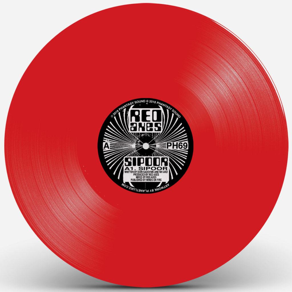 """Red Axes/SIPOOR (RED VINYL) 12"""""""