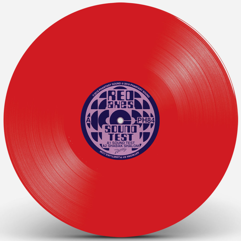 """Red Axes/SOUND TEST (RED VINYL) 12"""""""