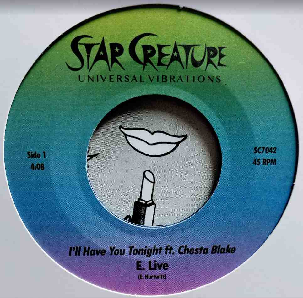 E. Live/I'LL HAVE YOU TONIGHT 7""