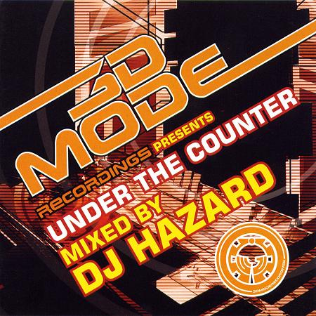 DJ Hazard/UNDER THE COUNTER VOL. 1 CD