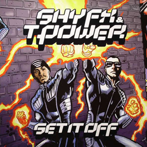 Shy FX & T Power/SET IT OFF 4LP