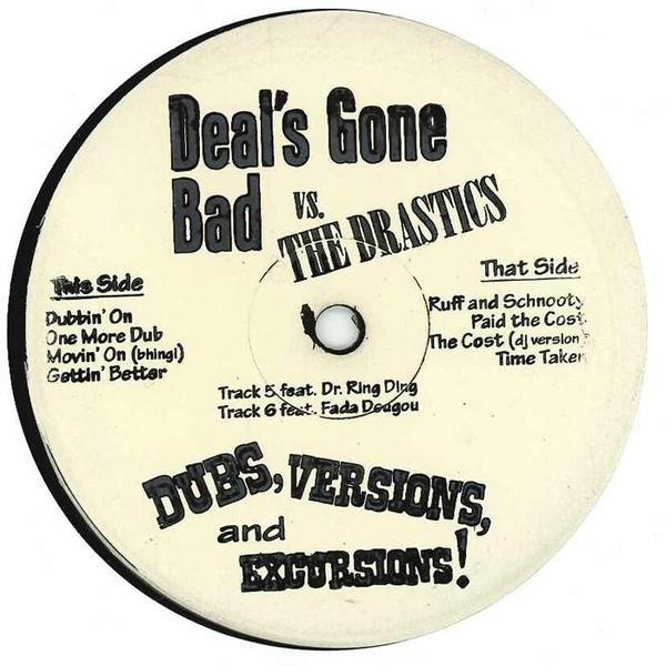 Drastics vs. Deals Gone Bad/DUBS LP