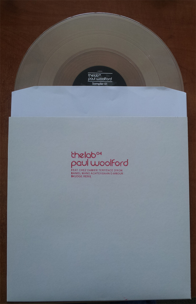 Paul Woolford/THE LAB 04 SAMPLER 12""