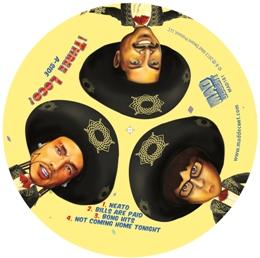 Three Loco/THREE LOCO EP LTD. CLEAR LP