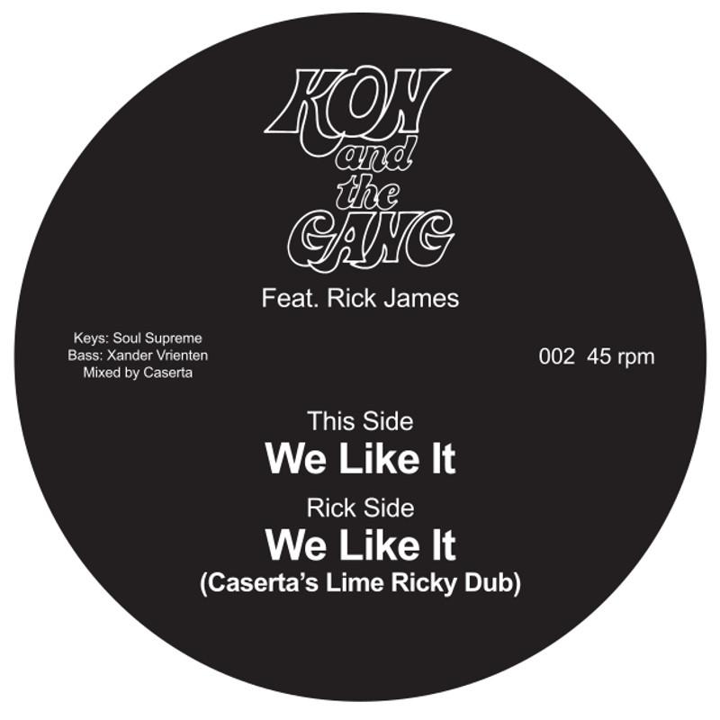 "Kon & The Gang/WE LIKE IT 7"""