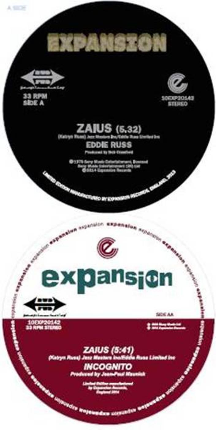 "Eddie Russ & Incognito/ZAIUS 10"""