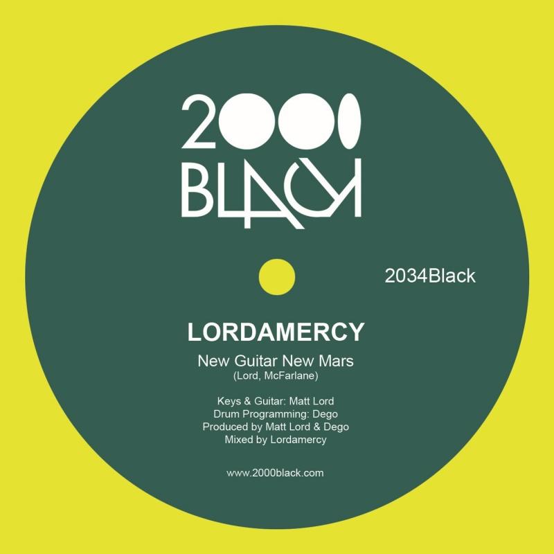 "Lordamercy/NEW GUITAR NEW MARS 12"""