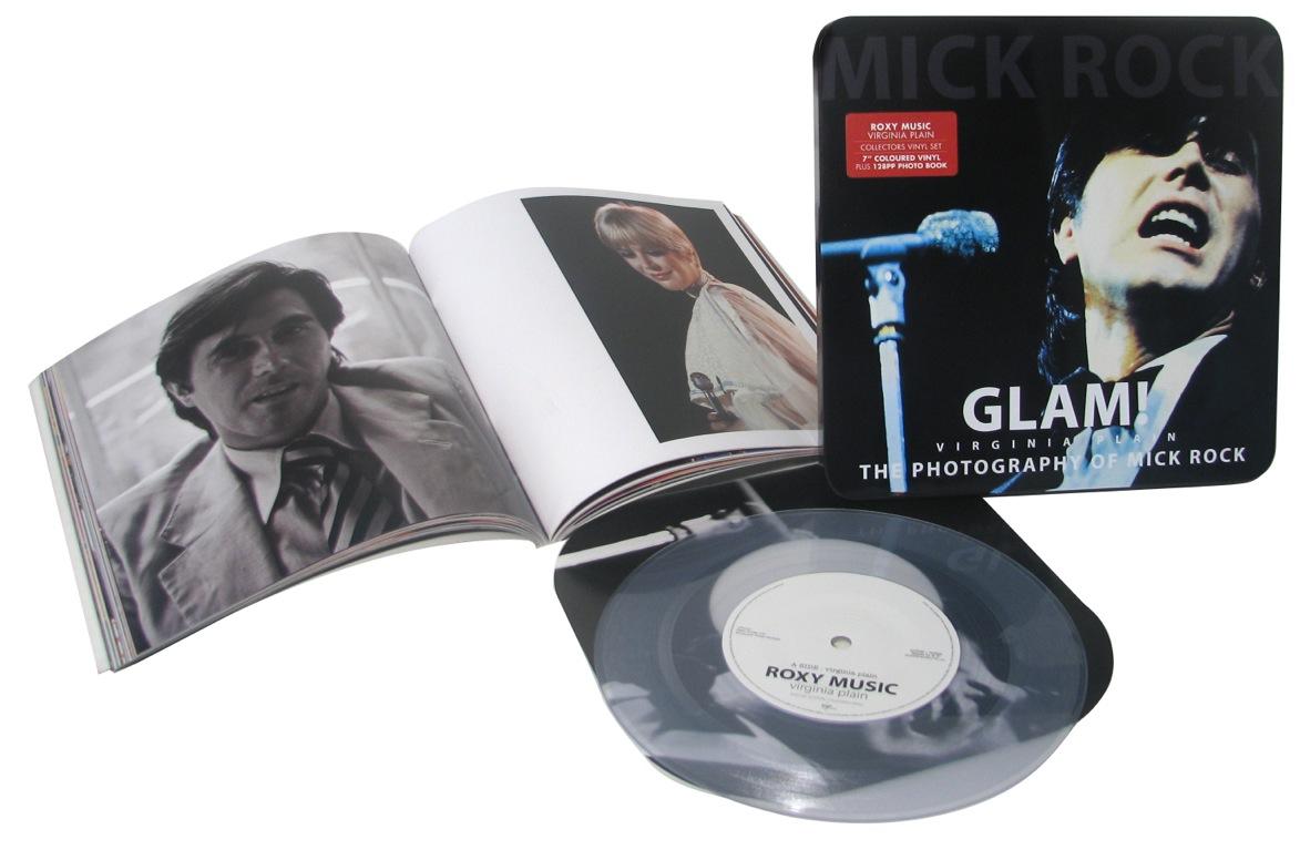 "Roxy Music/VIRGINIA PLAIN 7"" + BOOK"