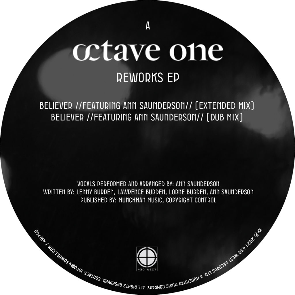 """Octave One/REWORKS EP 12"""""""