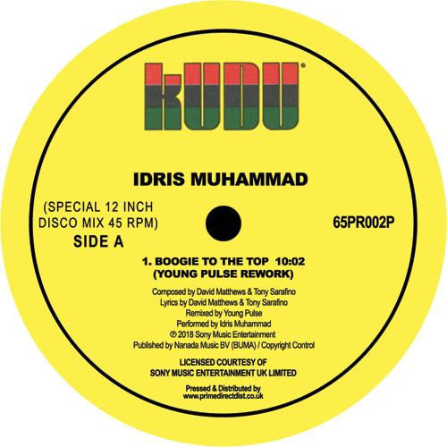 "Idris Muhammad/BOOGIE (YOUNG PULSE) 12"""