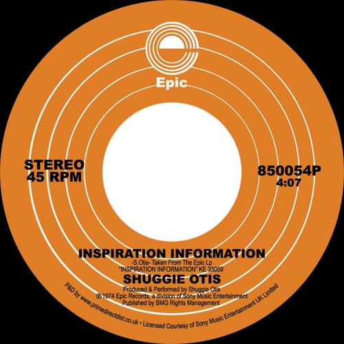 "Shuggie Otis/INSPIRATION INFORMATION 7"""