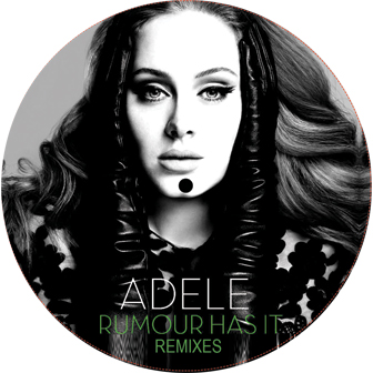 Adele/RUMOR HAS IT REMIXES 12""