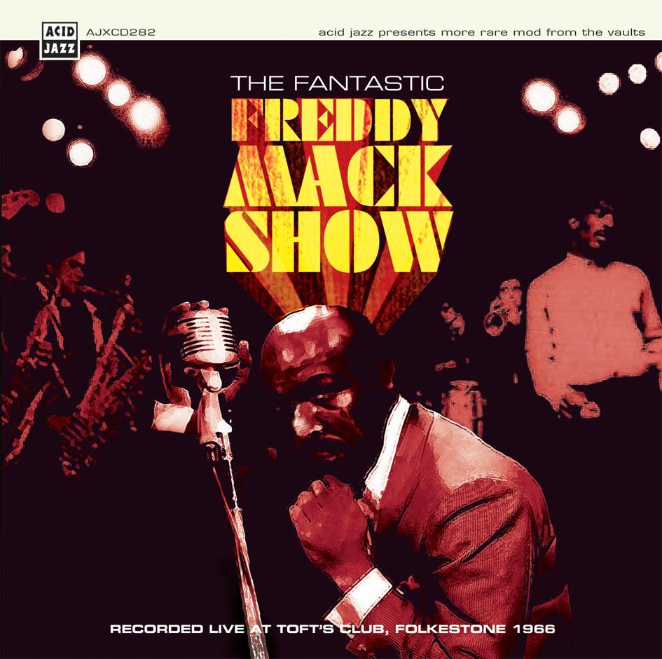 Freddy Mack/FANTASTIC FREDDY LIVE! LP