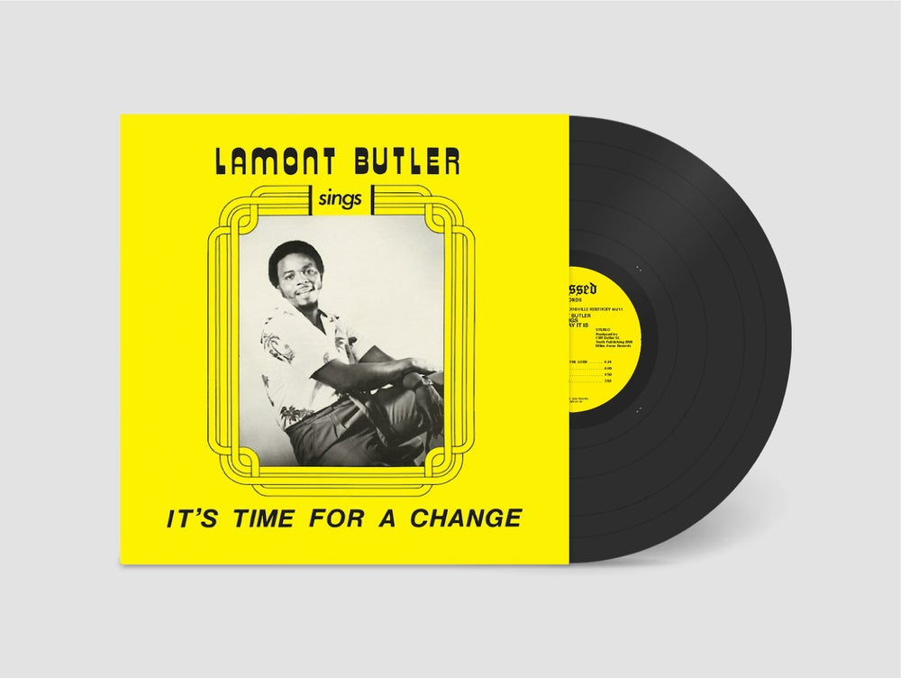 Lamont Butler/IT'S TIME FOR A CHANGE LP