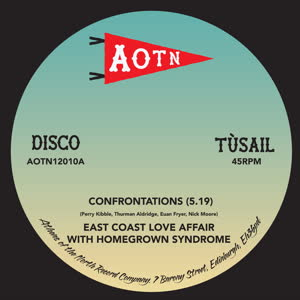 "East Coast Love Affair/CONFRONTATION 12"""