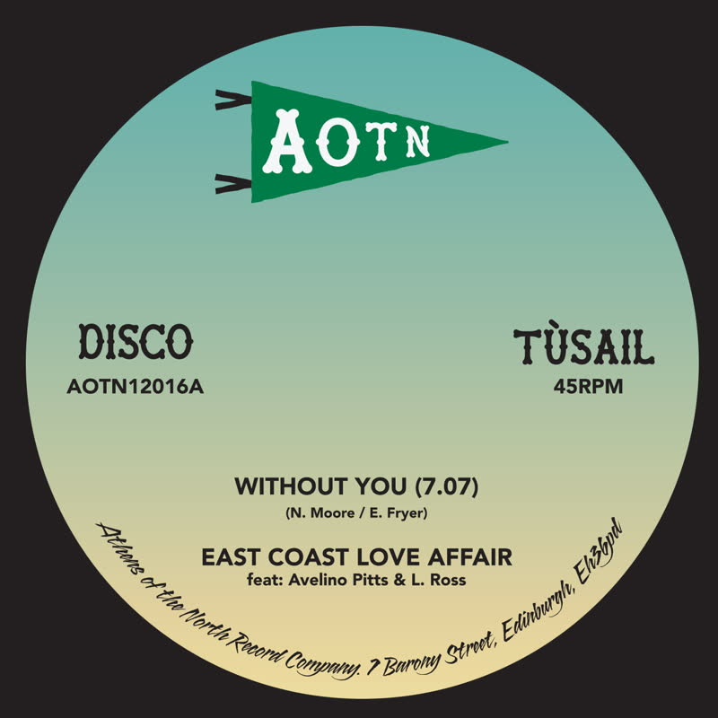 """East Coast Love Affair/WITHOUT YOU 12"""""""