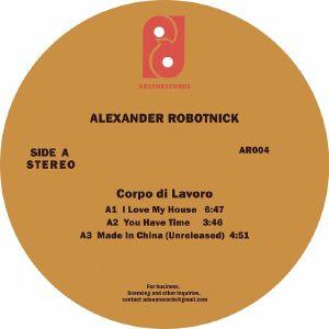 """Alexander Robotnick/CORPO DI LAVORO 12"""""""