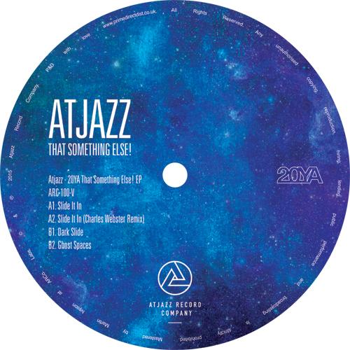"Atjazz/THAT SOMETHING ELSE! EP 12"""
