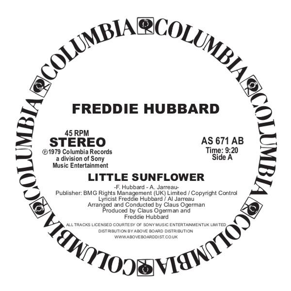 """Freddie Hubbard/LITTLE SUNFLOWER 12"""""""