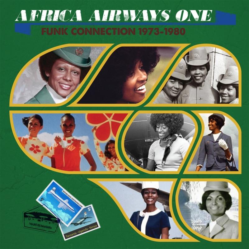 Various/AFRICA AIRWAYS ONE (1973-80) LP